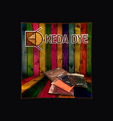 Keda Dye Color Kit 5 Color Wood Dyes Makes 5 Quarts In 5 Wood Stain Colors $18.99