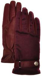 Stefano Ricci Gloves Handmade Leather Cashmere Lined Size 9 Red 13GL0112 $745