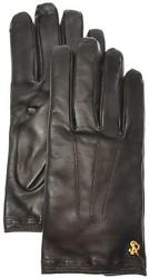 Stefano Ricci Gloves Handmade Leather Cashmere Lined Size 10 Brown 13GL0103 $745