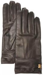 Stefano Ricci Gloves Handmade Leather W Cashmere Size 8.5 Brown 13GL0104 $745