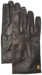 Stefano Ricci Gloves Handmade Leather Cashmere Lined Size 9 Brown 13GL0102 $745