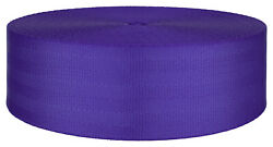 2 Inch Periwinkle Seat-belt Polyester Webbing Closeout 5 Yards $7.90