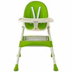 Dream on Me Jackson Lime Green Plastic High Chair