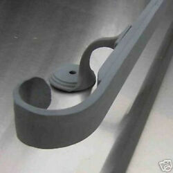 6-12 ft handrail wrought iron hand rail malleable brackets