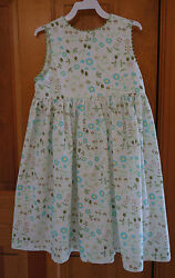 New With Tags Bella Bliss Clover Floral Button Back Jumper  Dress * Girl's 5 Yr