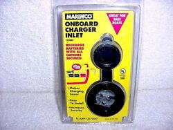 Marinco ONBOARD CHARGER INLET BASS BOAT RECHARGE BATTERIES