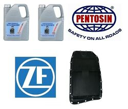 Oil Pan Filter Kit w Two 5 Liter Container Auto Trans Fluid OEM ZFPentosin