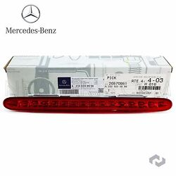 Genuine For Mercedes Benz Third 3rd Additional Brake Light Stop Assembly SL R230 $144.45