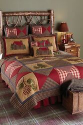 Beautiful Lodge Style Patchwork Cabin Bedding Set by Park Designs Pick