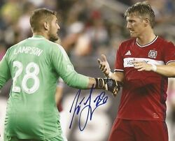 Matt Lampson signed Chicago Fire MLS Soccer 8x10 photo autographed $24.99
