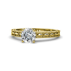 Diamond Marquise Solitaire Engagement Ring 1.00 ct in 14K Yellow Gold JP:120625