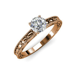 Diamond Marquise Solitaire Engagement Ring 1.00 ct in 14K Rose Gold JP:120626
