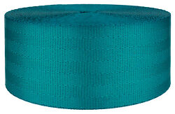 2 Inch Teal Seat-belt Polyester Webbing Closeout 10 Yards $12.60