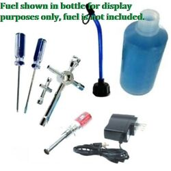 NITRO RC STARTER KIT Rechargeable Glow IgnitorFuel Bottle2Wrench2Screwdriver $24.99