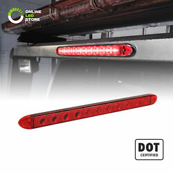 DOT 16quot; Red LED Clearance ID Trailer Turn Brake Tail Light Bar $12.99
