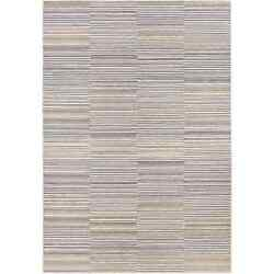 Power-Loomed Couristan Cape ShorehamIvory-Charcoal IndoorOutdoor Rug (7'10 x