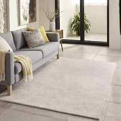 Hand-Tufted Gallery Mineral Ivory Wool Rug (3'6