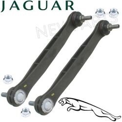 For Jaguar X-Type Set of Front Left & Right Susp. Stabilizer Sway Bar Links OES