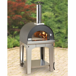 BEST Italian Rapid Heat Wood Burning OUTDOOR PIZZA OVEN White Glove Delivery