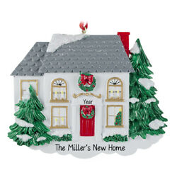 House Personalized Christmas Tree Ornament