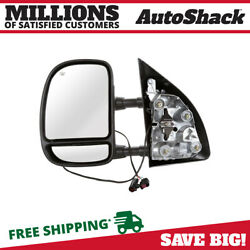 Left Power Tow Side Mirror for 1999-2003 Ford F-250 F-550 F-450 F-350 Super Duty $60.79