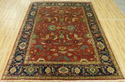 8'x10' New Fine quality Oriental Hand Knotted wool all over design Heriz rug