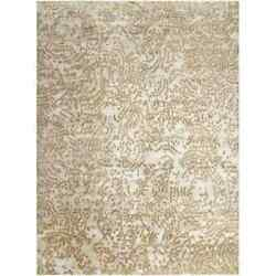 Hand-knotted Annapolis Abstract Design Wool Rug (8' x 11')