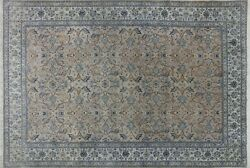 Persian Nian 8 x 12 Hand Knotted Wool & Silk Rug - H8040