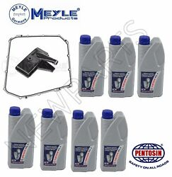 For Audi S4 S5 S6 S7 RS5 7 Liters Auto Trans Filter & Fluid MeylePentosin