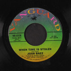 JOAN BAEZ: The Night They Drove Old Dixie Down  When Time Is Stolen 45
