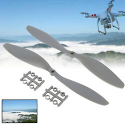 2Pcs APC Style 1147 CW CCW Propeller For Multi rotor Copter Quadcopter Grey HOT $3.40