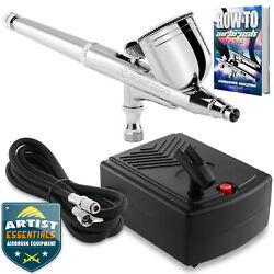 Dual Action Airbrush Kit with Mini Compressor $39.99