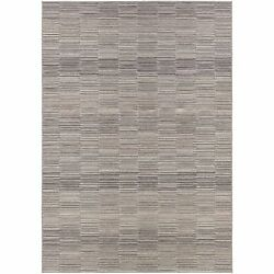 Power-Loomed Couristan Cape FaystonSilver-Charcoal IndoorOutdoor Rug (5'3 x