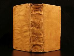 1560 Summa Conciliorum Bartholomew Carranza Dominican Monastics Catholic Papacy $750.00