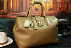 Gucci Authentic Large Carryall Duffle Leather Bag