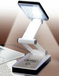 Portable LED Desk Lamp Bright Light Reading Night Travel Battery USB Laptop NEW $10.99