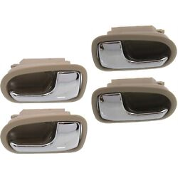 Interior Door Handle For 95-2003 Mazda Protege Set of 4 Front and Rear