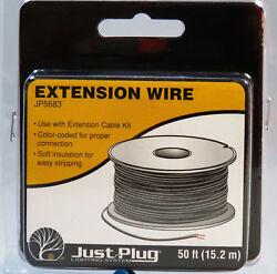 WOODLAND SCENICS EXTENSION WIRE FOR JUST PLUG LIGHTING SYSTEM wiring WDS5683 NEW $7.84