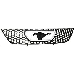 Grille For 99-2004 Ford Mustang Textured Black Plastic $44.38
