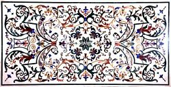Marvelous Work Marble Decorative Handicraft Dinette Table Inlay Patio Arts H5652