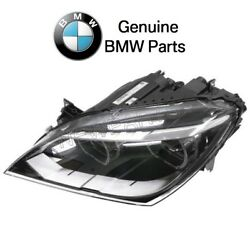 For BMW F06 F12 F13 6-Series Driver Left LED Headlight Assembly S552A Genuine