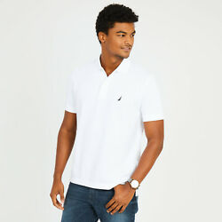 New NWT Mens Nautica Polo Pique Shirt Classic Fit Small Medium Large XL 2XL $22.90