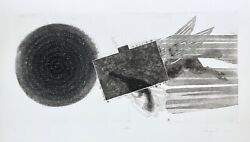 Diver's Line (State 2) Limited Edition Etching & Aquatint James Rosenquist