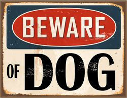 BEWARE OF DOG foam board sign 11quot; X 8quot; 1 2 Free shipping in the USA $5.99