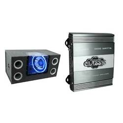 PYRAMID 12 Inch 1200W Car Audio Sub Box Subwoofer Bandpass Subs  $222.99