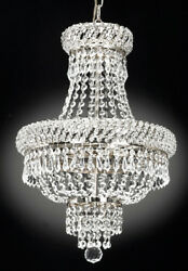 FRENCH EMPIRE CRYSTAL CHANDELIER CHANDELIERS LIGHTING S $159.00