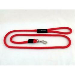 Soft Lines P11010RED Dog Snap Leash 0.62 In. Diameter By 10 Ft. Red $30.91