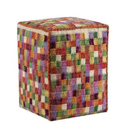 M.A.Trading Hand-woven Small Box Multi Pillow (20-inch x16-inch x 16-inch)