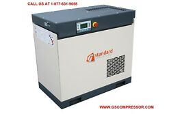 New  GS 20 HP Rotary Screw Air Compressor-  90 CFM OUTPUT