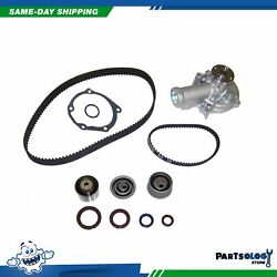 DNJ TBK155AWP Timing Belt Kit Water Pump For 2003 Mitsubishi 2.4L L4 SOHC 16v